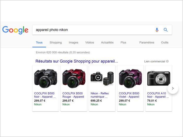 Nikon-flux-Google-Shopping-keyade