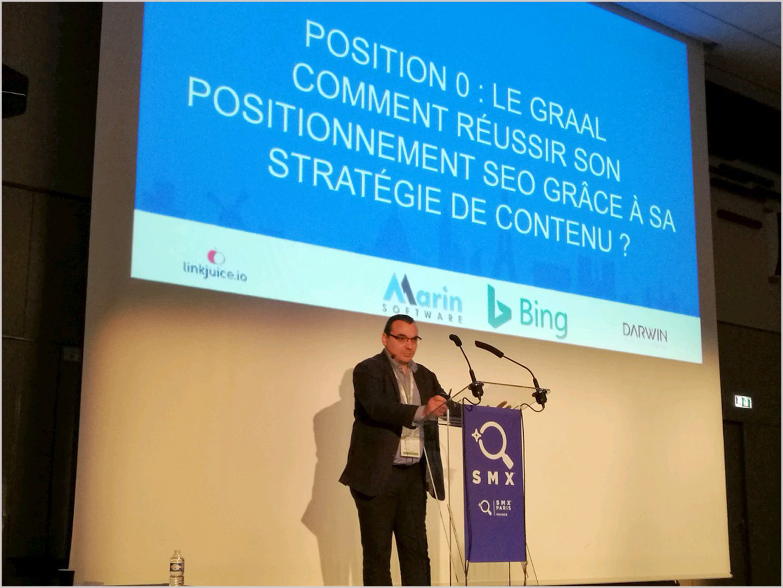 SMX Paris Conférence Keyade