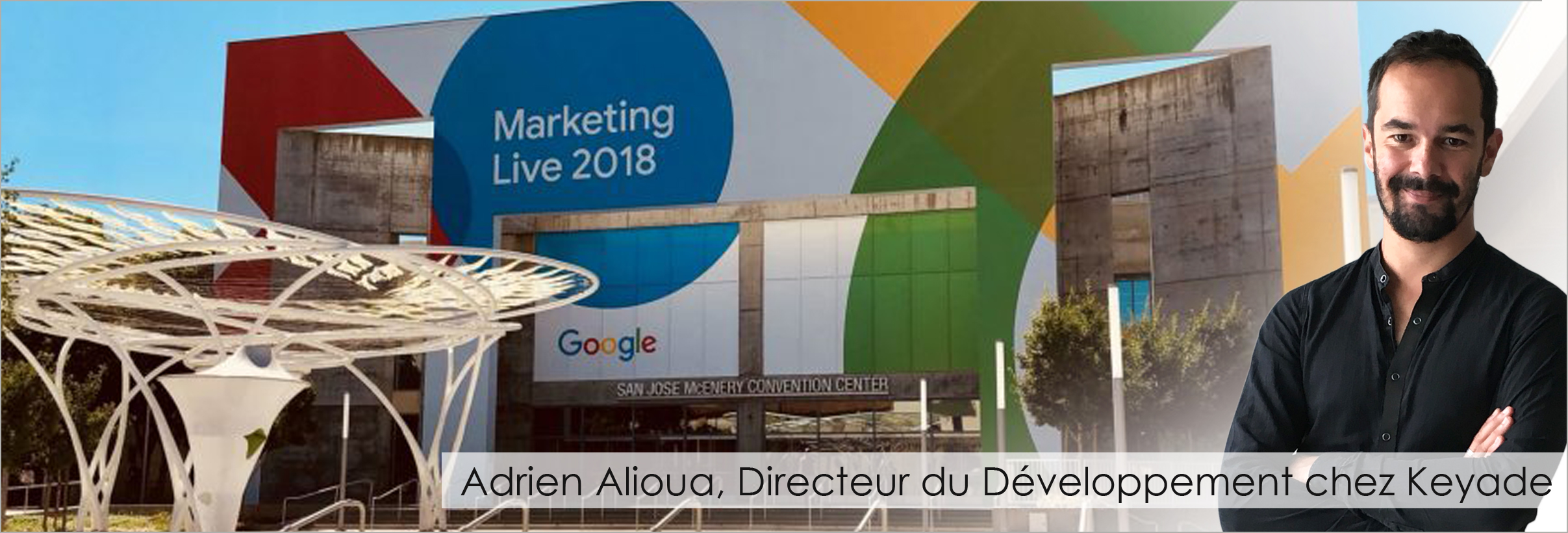 Adrien at Google Marketing Live 3