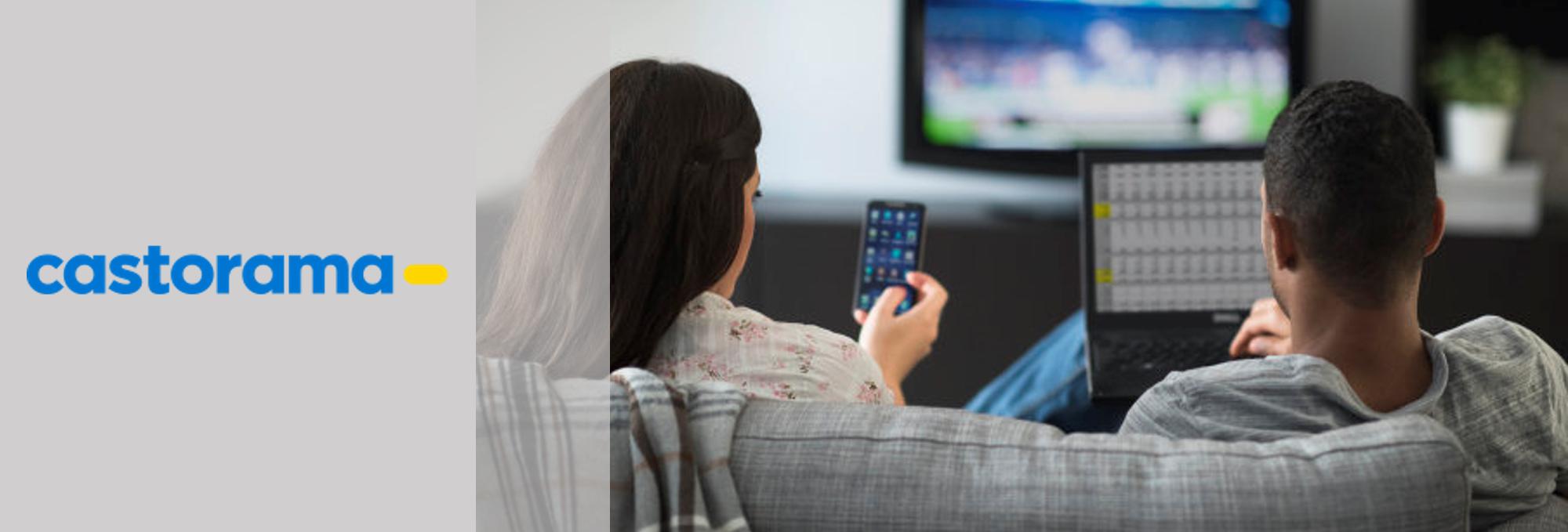 Synergie SEA TV - Etude de cas Castorama