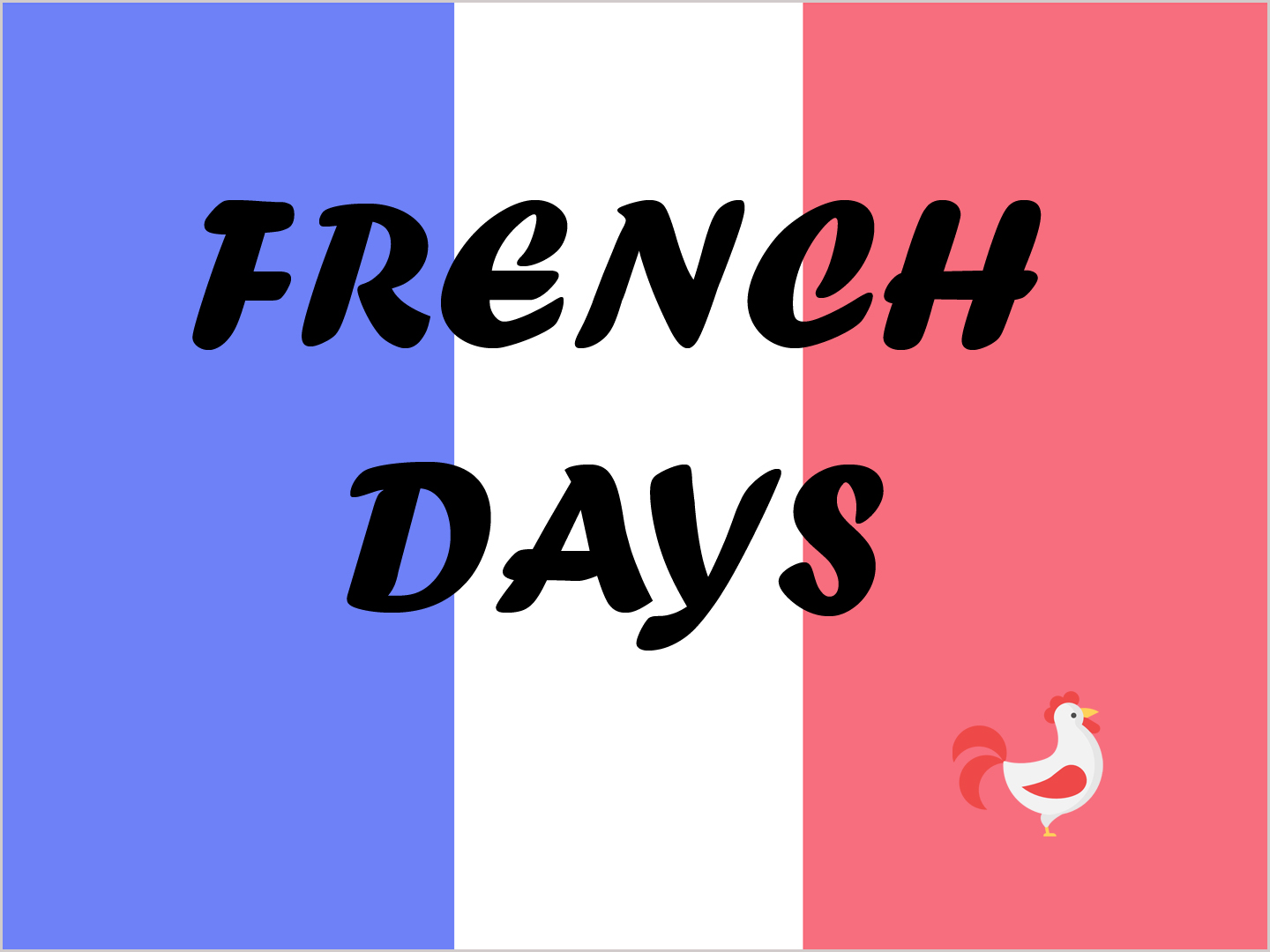 French Days-fil actu