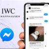 Du présentiel au virtuel : comment IWC (Richemont) engage les utilisateurs Facebook autour du lancement de sa nouvelle collection